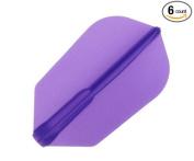 Cosmo Darts 6 Pack Fit Flight - Slim Dart Flight