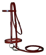 Paris Tack Heavy Duty English Hunt Bridle with 1.9cm Laced Reins