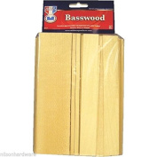 1 Pk Basswood Board Assorted Pieces Arts Crafts Hobby Modelling Project 17 supplier_nilsonhardware