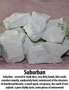 "Chalk natural,Edible chalk,Edible chalk,chunks Russian, Chalk ""Suburban"" 400gr."