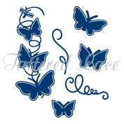 Tattered Lace Spring into Summer Butterflies Cutting Die & Stamp Set