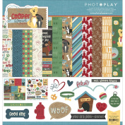 Photo Play Collection Pack 30cm x 30cm Cooper & Friends - Dog Scrapbook Paper Kit