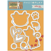 Photo Play Paper Etched Dies-Roxie & Friends