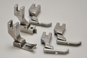 Presser Feet for Industrial Sewing Machines (5 PACK) FIRST QUALITY, MADE IN TAIWAN. Fits Juki DDL-8700, DDL-555, DDL-5550, DDL-8500, Includes 24983 , 12435HN, 31358HN, S518, 40322SH