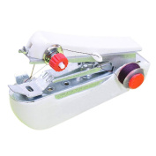 Rely2016 Portable Handheld Mini Clothes Sewing Machine Small Stitch Cordless Bobbin Winding Facility Home