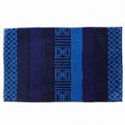 Apt 9 Blueprint Stripe Micro Plush Throw Rug 20x32 Bath Mat