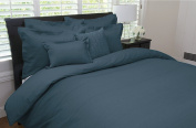 Linear Duvet Cover Ink Twin