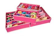Drawer Dividers Closet Organisers Bra Underwear Lingerie Socks Tie Storage Boxes
