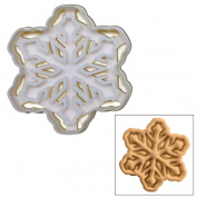 Snowflake Design 2 cookie cutter, 1 pc, Ideal gift for winter wedding or Christmas party