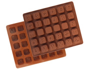 Emoyi English Alphabet Letter Number Silicone DIY Mould Mould Ice Cube Tray