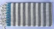 TURKISH TOWEL-Pestemal, Peshtamal, Striped Towel, Beach Towel ,Bath Towel, Fouta, Hammam Towel, Yoga Towel, Baby Blanket …