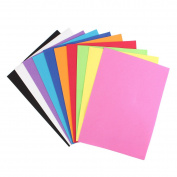 10Pcs Thick Multicolor Sponge Foam A4 Paper Fold Scrapbooking Paper Baby Kid Craft DIY Handicraft Supplies