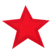 3 Pcs/Set Star Applique Clothing Embroidery Patch Fabric Sticker Iron On Sew On Patch Craft Sewing Repair Embroidered 6 Colours