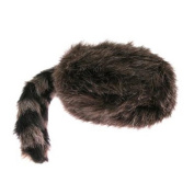 Faux Raccoon Tail Hat - Classic Raccoon Tail Hat Of Faux Fur by U.S. Toy