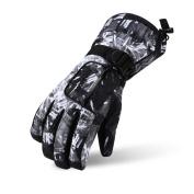 Ski Gloves, Lemonworld Snow Warm Gloves for Men Women kids, Windproof & Waterproof Breathable Gloves For Winter Outdoor Cycling Snowboard Sports