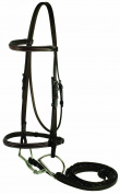 Gatsby Leather Company Fancy Snaffle Bridle