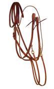 Berlin Custom Leather Martingale Hermann Oak German Split Reins H847