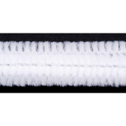 Chenille Stems - 12mm - White - 12 pieces