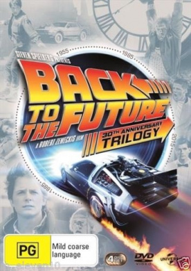 BACK TO THE FUTURE Trilogy 1 2 3 : 30th Anniversary (Region 4)