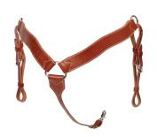The Colorado Saddlery Mahogany Breast Collar