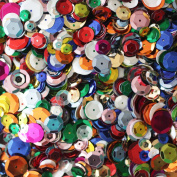 Fireboomoon 10,000pcs BULK CRAFT CUP SEQUINS MIXED colours AND SIZES, Sequins and Spangles Craft Supplies