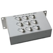 Coaxial Video Splitter, 5-100mhz, 1 in 8 out - Distributed by NAC Wire and Cables