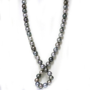 "Tahitian South Sea Pearl Opera Necklace 15 - 14mm AAA Fancy Multi Colour 35"" 14K 13 mm White Gold"