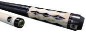 Lucasi Custom+Hybrid LZ2004BK Pool Cue Stick with Zero Flexpoint Low Deflection Shaft & Uni-loc Quick Release Joint