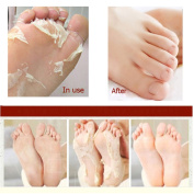 (2 packs) Japanese Hyaluronic Acid Baby Feet Highly Effective Peeling Foot Mask