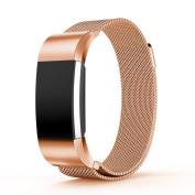 Small Size Milanese Stainless Steel Watch Band Strap Bracelet For Fitbit Charge 2