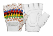 All-Purpose Padded Mesh Leather Wheelchair Gloves W-1013