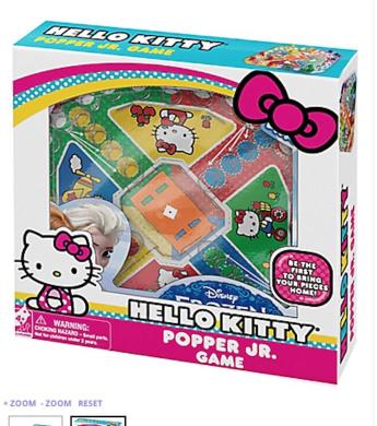 Hello Kitty Popper Jr. Game