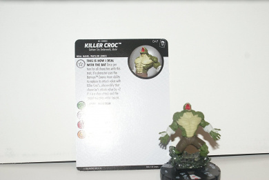 Killer Croc #047 - Rare - The Joker's Wild - DC Comics Heroclix
