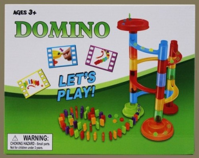 Marble Race Domino Run Playset Creative Construction Toy