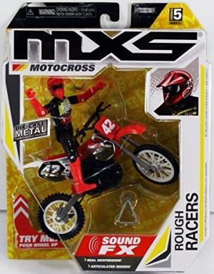 MXS Motocross SFX Bike & Rider Series 5 - Rough Racers by Jakks Pacific