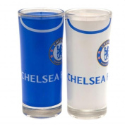 Chelsea F.c. 2pk High Ball Glass