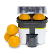 Turbo-juicer Cecojuicer Zitrus of double head one also cuts the fruit.