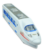 ToyZe Train Toy, High Speed with Beautiful Lights and Real Sounds, Bump and Go Action by ToyZe