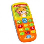 Early Education  .   Year Olds Baby Toy Tiny Touch Phone Musical Sound Telephone Toys for Children & Kids Boys and Girls by EastSun