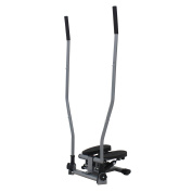 Sunny Health & Fitness Dual-Action Swivel Stepper with Handlebars