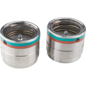 Ultra-Tow High-Performance Bearing Protectors - Pair, Fit 4.5cm . Hubs, Stainless Steel, Grease Level Indicators, Model# 5712941