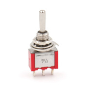 Baomain Toggle Switch MTS-123 5A 120VAC SPDT ON/OFF/ON 3 Position Momentary UL 6 Pcs