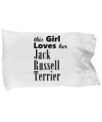 Jack Russell Terrier - Pillow Case
