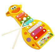 Morecome Kid Baby Musical Instrument 8-Note Xylophone Development Toy