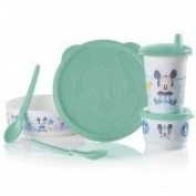 Disney Baby Tupperware Feeding Mickey Mouse Feeding Set