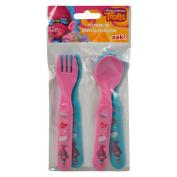Dreamworks Trolls Lunch Utensil Set 4pc Forks and Spoons