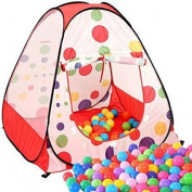 Zuwit Kid' Play Tent House Easy Folding Ball Pit with Carrying Case(Balls Not Include) by Zuwit