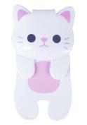 "Cat ""Magnet Clip"" White ME226"