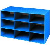 Bankers Box Classroom 9 Compartment Cubby Storage 41cm H x 70cm W x 33cm D