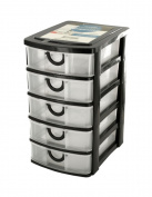 Kole Imports OL429 5 Drawer Desktop Storage Organiser